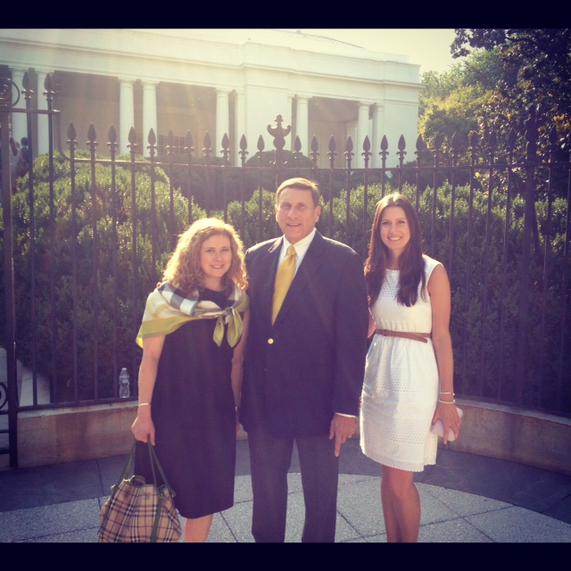 John Mica (R-FL) at the White House for the transportaton bill signing
