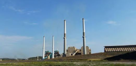 Units 1 and 2 at the Colstrip Power Plant are scheduled to close by 2022. The power plant (which also consists of Units 3 and 4), as well as the neighboring Rosebud Power Plant and Rosebud Coal Mine, provide around 800 jobs in southeastern Montana. (Image courtesy Lori Shaw)